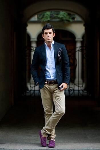 blazer com cal%C3%A7a de sarja 6 TERNO sem Gravata Como usar com Estilo e Charme