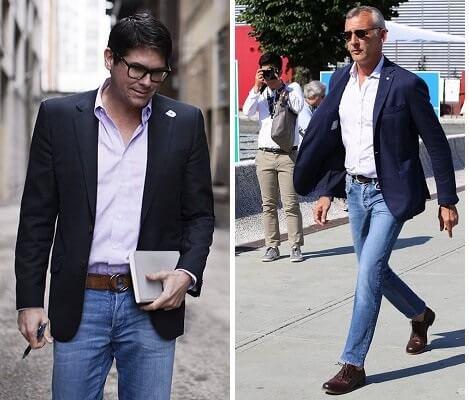 blazer com calca jeans 1 TERNO sem Gravata Como usar com Estilo e Charme