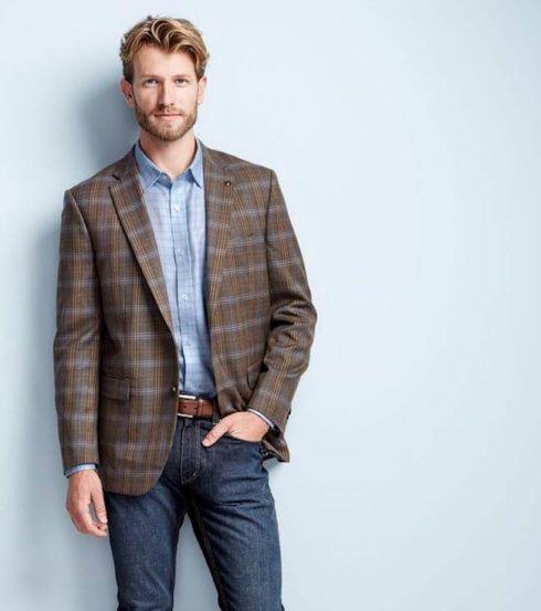 blazer com calca jeans 4 490x553 TERNO sem Gravata Como usar com Estilo e Charme