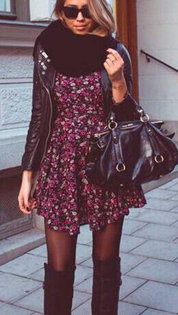 com vestido cachecol CACHECOL para Inverno ( Combinações da Moda ) Confira