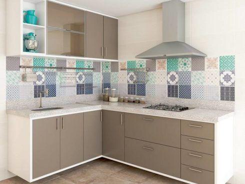 cozinha com granito branco para apartamento 490x367 Cozinha Planejada MODERNA configurações maravilhosas