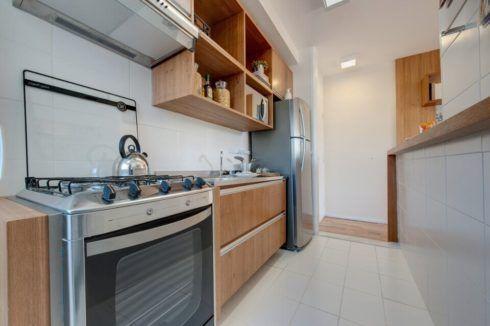 cozinha para apartamento planejada 490x326 Cozinha Planejada MODERNA configurações maravilhosas