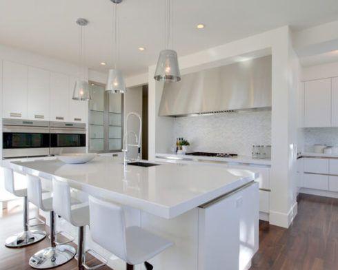 cozinha planejada branca 1 490x392 Cozinha Planejada MODERNA configurações maravilhosas