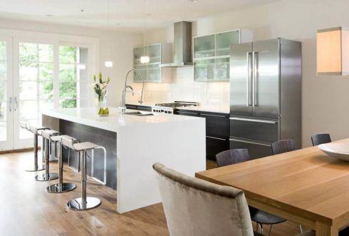 cozinha planejada com ilha 4 490x331 Cozinha Planejada MODERNA configurações maravilhosas