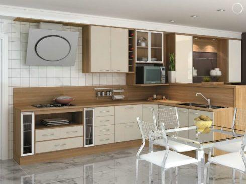 cozinha planejada em l 7 490x368 Cozinha Planejada MODERNA configurações maravilhosas