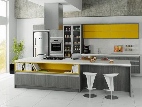 imagem 19 490x368 Cozinha Planejada MODERNA configurações maravilhosas