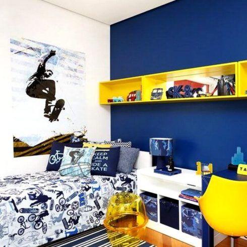 imagem 6 3 490x490 Ambientes decorados com Azul (Sala, Cozinha, banheiro, Quarto)