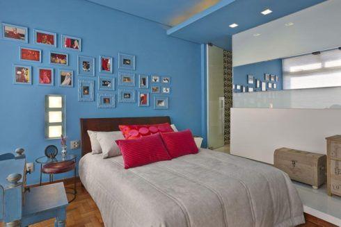 imagem 7 7 490x327 Ambientes decorados com Azul (Sala, Cozinha, banheiro, Quarto)