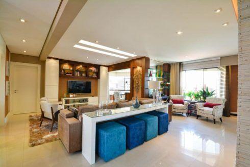 imagem 8 6 490x327 Ambientes decorados com Azul (Sala, Cozinha, banheiro, Quarto)