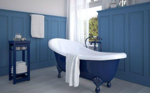imagem 8 9 490x304 Ambientes decorados com Azul (Sala, Cozinha, banheiro, Quarto)