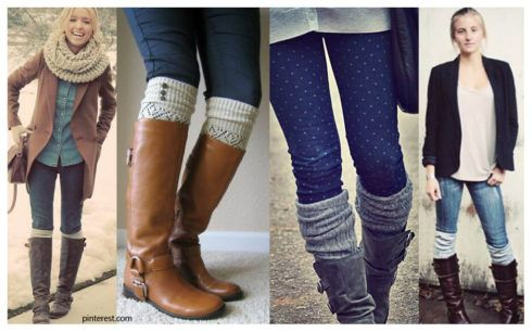 polaina por cima da calca jeans e bota 490x306 POLAINA para INVERNO veja como usar e montar looks