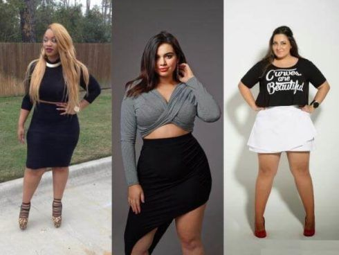 saia plus size cintura alta 490x368 Especial saias PLUS SIZE modelitos que encantam