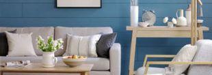 sala de estar decorada azul 1 310x110 Ambientes decorados com Azul (Sala, Cozinha, banheiro, Quarto)