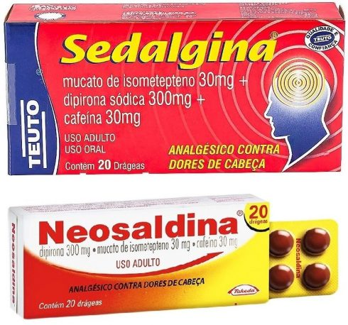 sedalgina 490x458 Remédios para dor de CABEÇA confira indicações