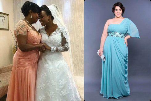 vestido mae da noiva plus size gordinha 490x327 VESTIDOS para Mãe da noiva e do noivo para casamento