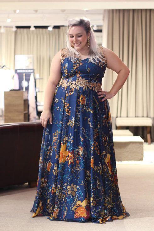 vestido plus size para casamento 1 490x735 Vestidos PLUS SIZE para Festas e Baladas e dia a dia