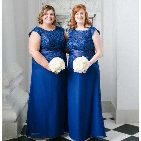 vestido plus size para casamento azul 490x490 Vestidos PLUS SIZE para Festas e Baladas e dia a dia