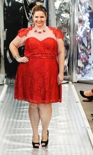 vestido plus size para formatura vermelho Vestidos PLUS SIZE para Festas e Baladas e dia a dia