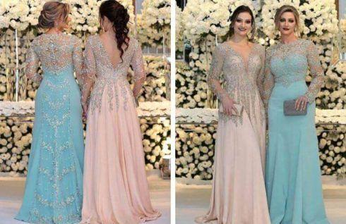 vestidos para mae da noiva 3 490x318 VESTIDOS para Mãe da noiva e do noivo para casamento