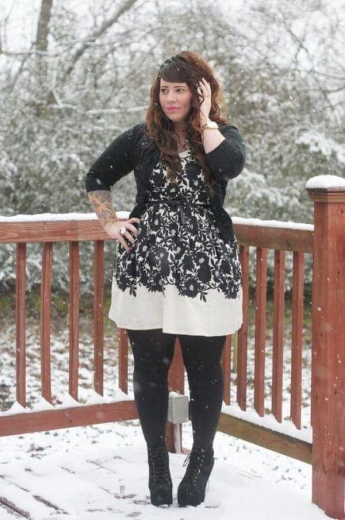imagem 12 490x738 Vestido Plus size Curto, Modelos e Looks perfeitos