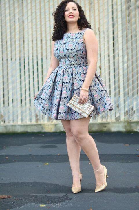 imagem 13 Vestido Plus size Curto, Modelos e Looks perfeitos