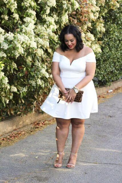 imagem 7 Vestido Plus size Curto, Modelos e Looks perfeitos