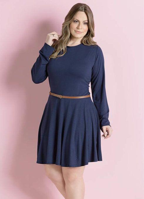 imagem 8 490x678 Vestido Plus size Curto, Modelos e Looks perfeitos