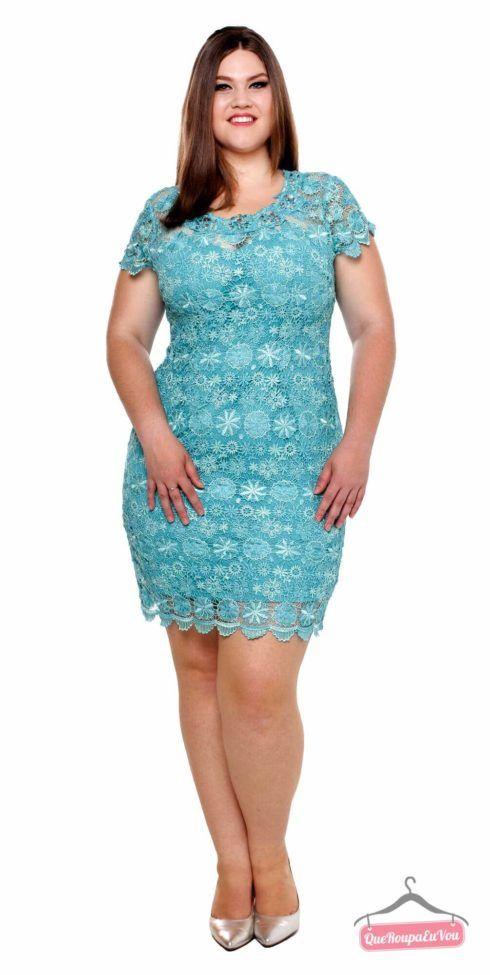 vestido plus size curto para formatura 2 490x975 Vestido Plus size Curto, Modelos e Looks perfeitos