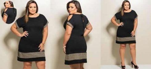 vestido plus size curto para formatura 4 490x226 Vestido Plus size Curto, Modelos e Looks perfeitos