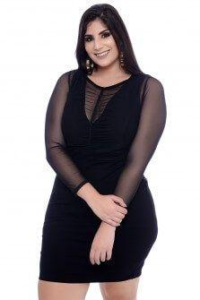 vestido plus size curto para formatura 6 Vestido Plus size Curto, Modelos e Looks perfeitos