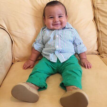 bebe com 5 meses Como está um bebê com 5 meses após o Nascimento, Conheça