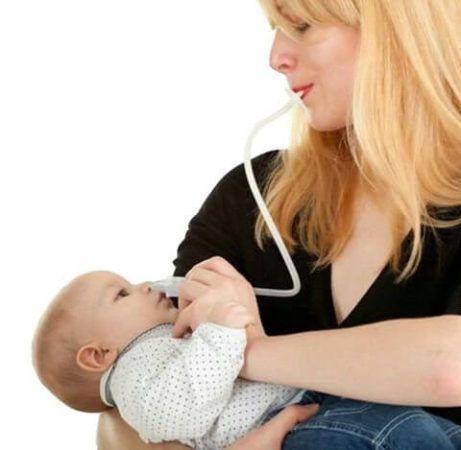 Como Desentupir o Nariz do Bebê com Catarro, passos
