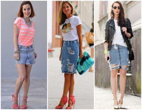 imagem 4 9 490x381 Jeitos de usar Saia Jeans Curta Perfeita para o Verão