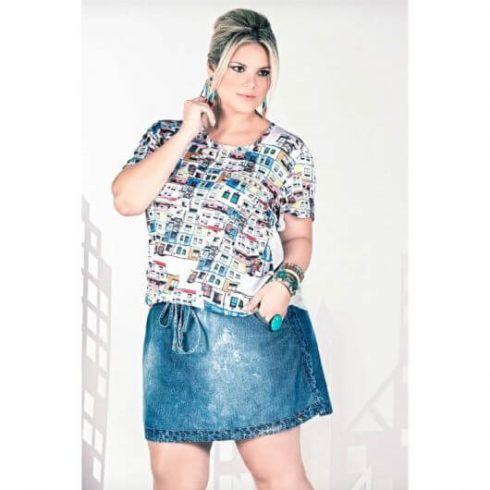 imagem 5 12 490x490 Jeitos de usar Saia Jeans Curta Perfeita para o Verão
