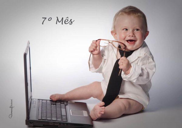 Bebê com 7 Meses de Vida, O seu Desenvolvimento