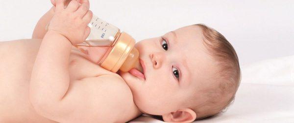 Medidas de água e chá para dar pro Bebê