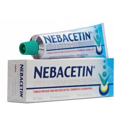 Pomada Nebacetin Remédio, Pomada para Furúnculo nas Nádegas (Tratamento)