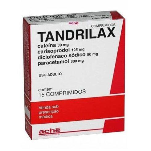 Tandrilax Comprimido 490x490 Antiinflamatório para Canelite Pomadas e Comprimidos