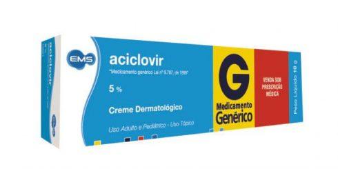 aciclovir pomada 490x245 Aciclovir Comprimido e Pomada, Indicações, dosagem, Tratamento
