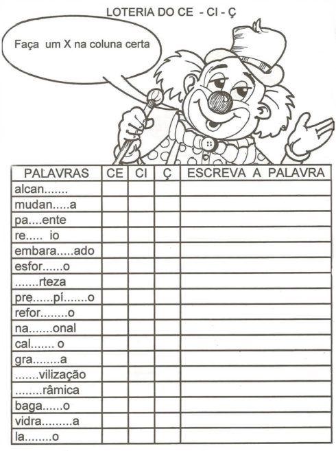 ditado de palavras 4 ano 3 490x657 Atividade Ditado de Palavras para o Ensino Fundamental