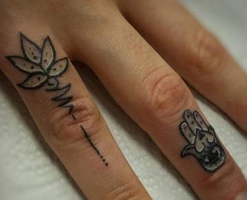 iamgem 91 490x397 Tatuagem Flor de Lótus Feminina, Áreas a Tatuar