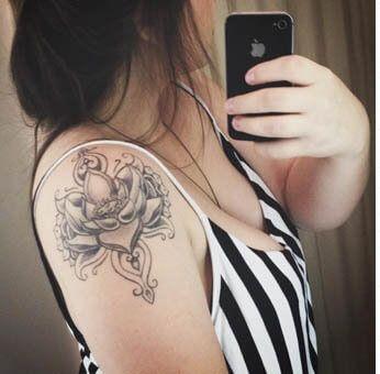 imagem 16 5 Tatuagem Flor de Lótus Feminina, Áreas a Tatuar