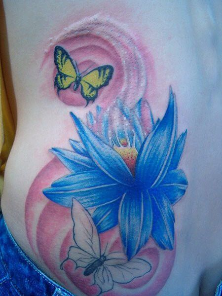 imagem 29 5 Tatuagem Flor de Lótus Feminina, Áreas a Tatuar