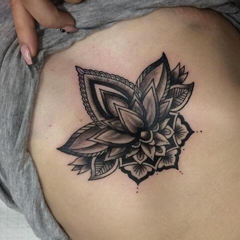 imagem 30 5 Tatuagem Flor de Lótus Feminina, Áreas a Tatuar