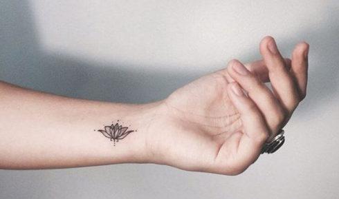 imagem 55 2 490x289 Tatuagem Flor de Lótus Feminina, Áreas a Tatuar