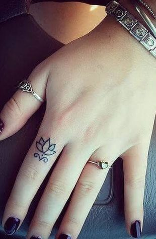 imagem 86 310x474 Tatuagem Flor de Lótus Feminina, Áreas a Tatuar