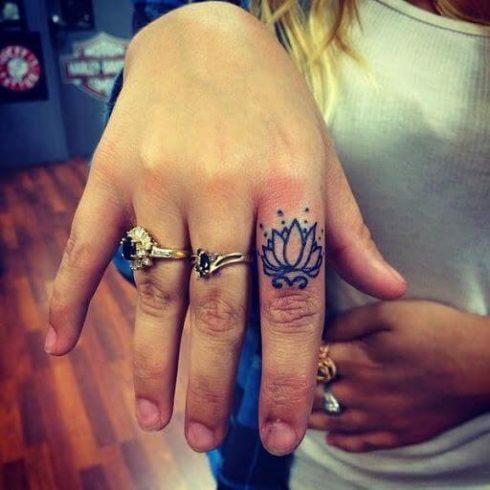 imagem 90 490x490 Tatuagem Flor de Lótus Feminina, Áreas a Tatuar
