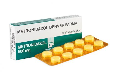 metronidazol comprimido 490x327 Metronidazol Pomada e Comprimido, Tratamentos, Doses, Informações
