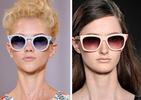 oculos feminino vintage arma%C3%A7%C3%A3o branca 490x350 Óculos de Sol para o Verão modelos modernos e da Moda
