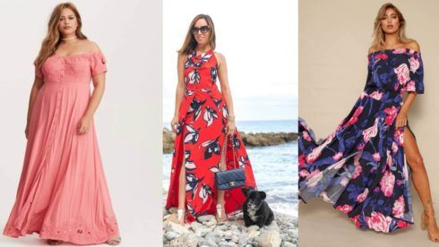 vestido de ver%C3%A3o longo 1 490x276 Vestidos de Verão : Modelos doces e Encantadores, confira